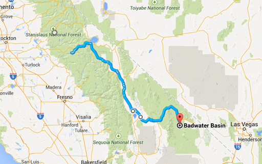 2014-10-25_usa-california_route-from-yosemite-to-death-valleuy